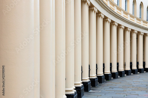 Photo  Terraced houses on Park Crescent, London
