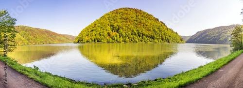 Donauschlinge - Panoramaaufnahme Tablou Canvas