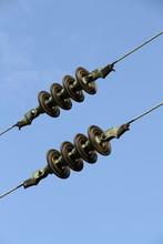 Isolatoren An Einer Bahnstrecke