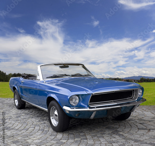 Photo  Oldtimer, Ford Mustang