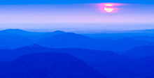 Sunrise Sun Peeks Through The ...