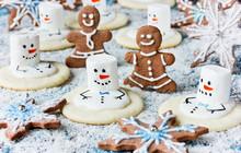 Christmas Cookies - Melting Sn...