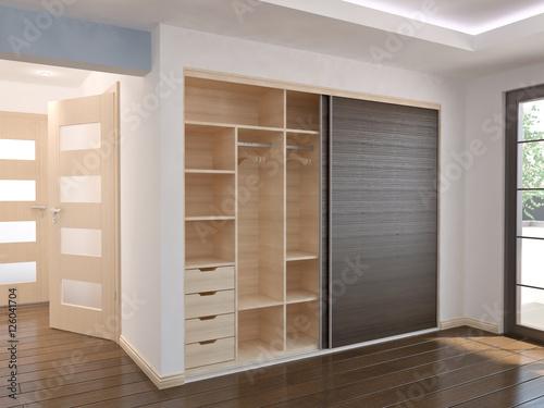 Fotografía  Wardrobe - Sliding doors - interior