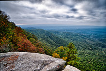 Landscapes Near Lake Jocassee And Table Rock Mountain South Caro