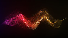 Vector Abstract Background. Dy...