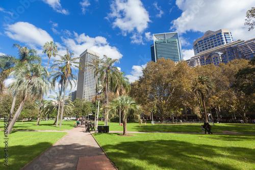 plakat Hyde Park Sydney City