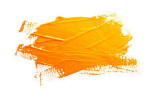Yellow Ochre Strokes Of The Pa...