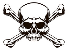 Skull And Cross Bones Sign