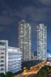 High rise residential buildings in Hong Kong