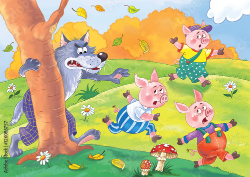 three-little-pigs-and-the-wolf-fairy-tale-illustration-for-children