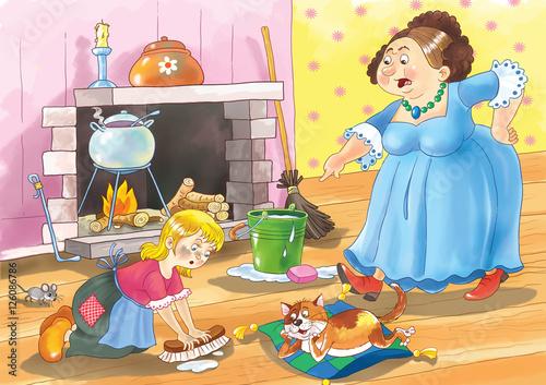 Cuadros en Lienzo Cinderella