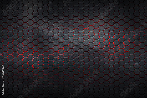 hexagon background and texture.