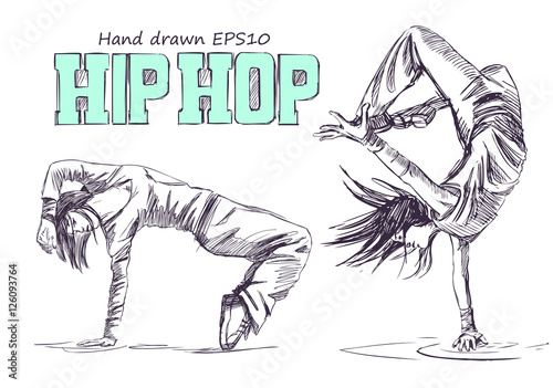 Láminas  Hip hop dancer
