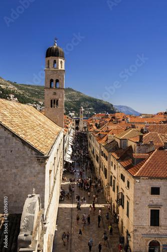 Dubrovnik City Walls Old Town Croatia Poster