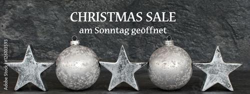Fotografie, Obraz  Christmas Sale