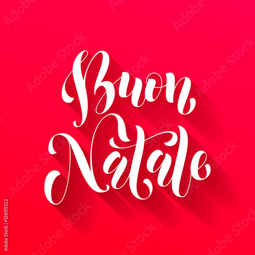 Buon natale greeting italian merry christmas buy this stock buon natale greeting italian merry christmas m4hsunfo