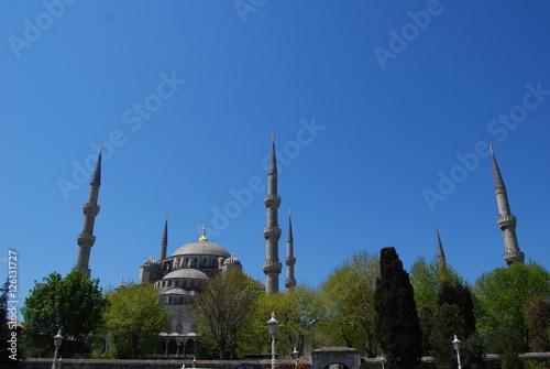 Photo  Istanbul, Turkey Sultan Ahmed Mosque, Blue Mosque