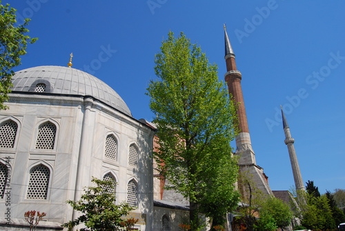 Photo  Istanbul, Turkey Hagia Sophia exterior