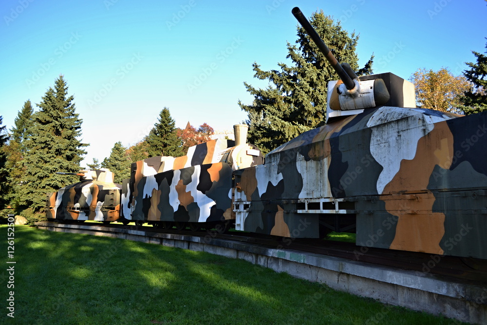 Photo & Art Print armored train / Slovakia Zvolen 2014 October 14