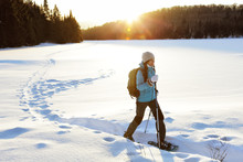 Winter Hiking Sport Activity W...