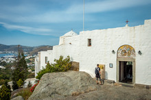 Grotto Of St John The Theologian, Patmos, Greece
