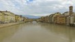 This video is about Ponte Vecchio fiume arno in piena