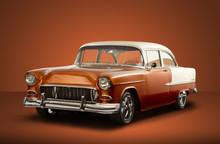 Vintage 1955 Chevrolet Bel Air...