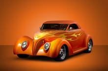 Custom Roadmaster - Orange Background