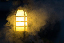 Lamp With Fog, Garden Light La...