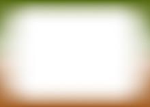 Green Brown Copyspace Background Vector Illustration