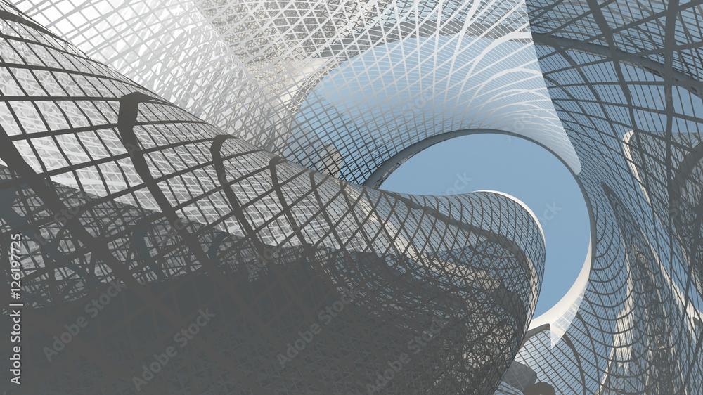 Fototapeta Contemporary Architecture