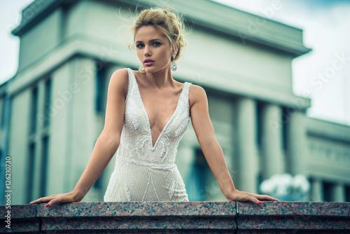 Fotografie, Obraz  Wedding. Beautiful bride.