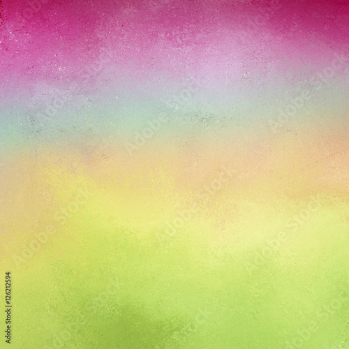 Pastel Background With Soft Light Colors Of Blue Pink Green And Yellow Bright Deep Top Border Faint Vintage Texture Design Pretty Spring