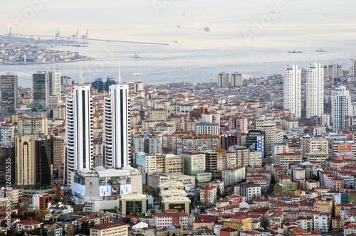 Fototapeta panorama miasta, Istambuł obraz