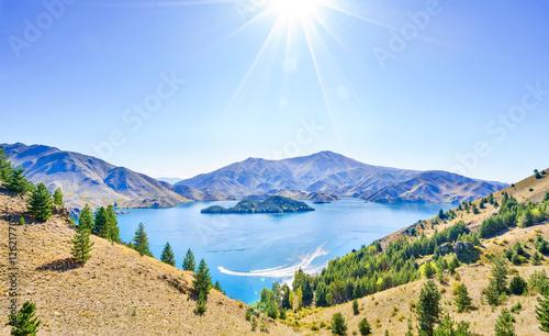Photo  Lake Benmore View-1