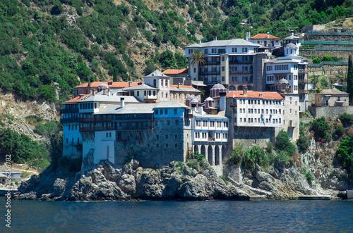 Valokuva  Dionissiou monastery, Athos Peninsula, Mount Athos, Chalkidiki,