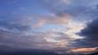 Look at fantasy during beautiful evening sky