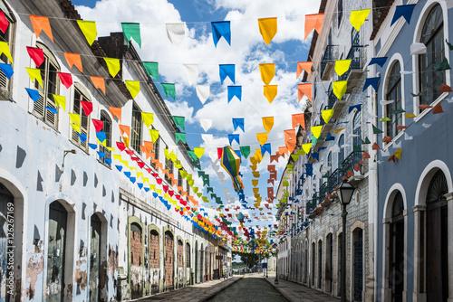 Photo sur Toile Brésil Historic city of Sao Luis, Maranhao State, Brazil