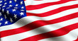 american USA flag, stars and stripes