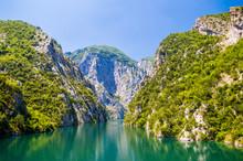 Lake Koman Landscape, Albania