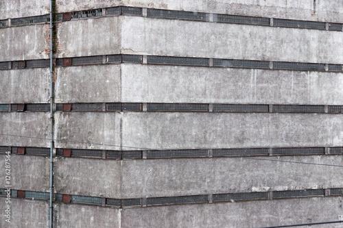 Staande foto Industrial geb. fragment of the old industrial building