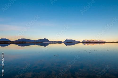 Staande foto Scandinavië Lato na lofotach, Skandynawia, Nordland, Norwegia