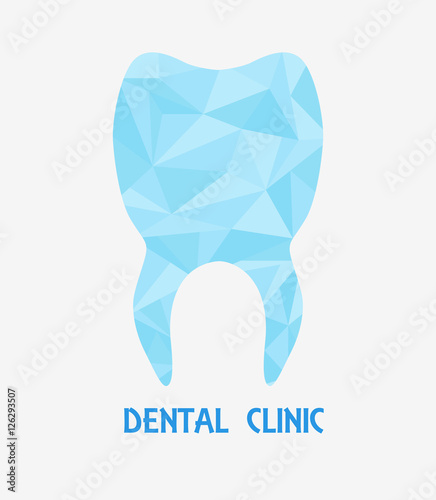Dental Health Symbol Stylized Tooth Polygons Template Company Logo Dentistry Logotype Vector Illustration Teeth Care Buy This Stock Vector And Explore Similar Vectors At Adobe Stock Adobe Stock