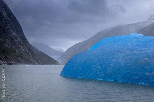 Printed kitchen splashbacks Glaciers Blue Iceberg, Endicott Arm, Alaska