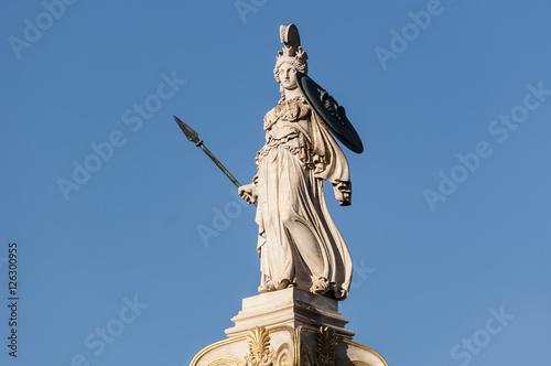 Fotografie, Obraz Athena statue