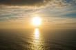 Beautiful sunset. Atlantic Ocean