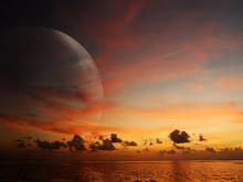 Alien World Sunset