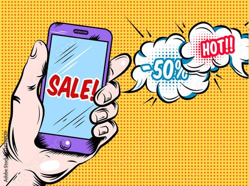 Online Hot Sale Comic Style Design