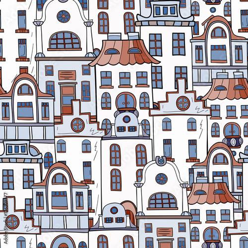 wzor-recznie-rysowane-i-kolorowe-domy