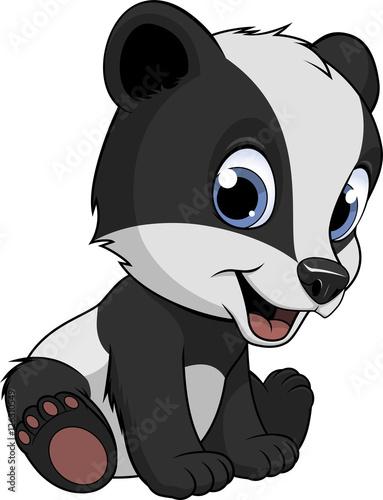 Fotografía Little funny badger